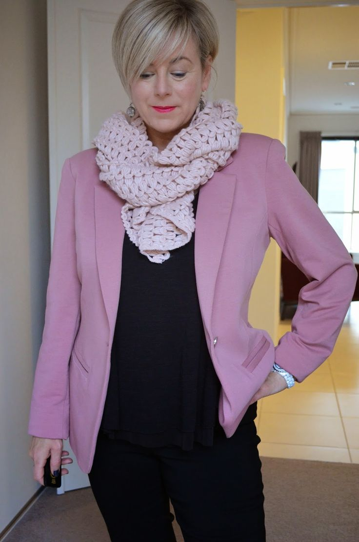 Stylish Murmurs: WORK READY : PRETTY IN PINK!