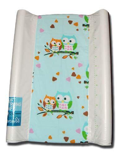 pokrowiec bawełniany uniwersalnyz gumką na przewijak - Sowagreen/changing mat cover