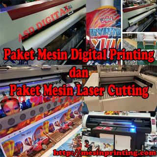 Promo mesin digital printing dan laser cutting