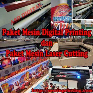 Promo mesin digital printing dan laser cutting