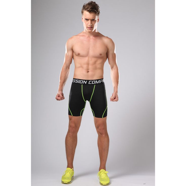2017 Hot Sale Men's Shorts Compression Gym Running Basketball Soccer Male Short Pants Homme Surf Bermudas Masculina Boardshorts  #Affiliate