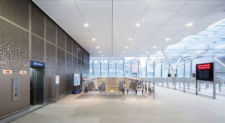Been through Paddington station recently? Armstrong Ceilings are used in the Paddington Integrated Project  Ceiling Contractor:Carlton Ceilings & Partitions Ltd  Main Contractor:Carillion Construction  Client:Crossrail Head Office  Specifier:Weston Williamson & Partners  VP 500 and Special Bulkhead