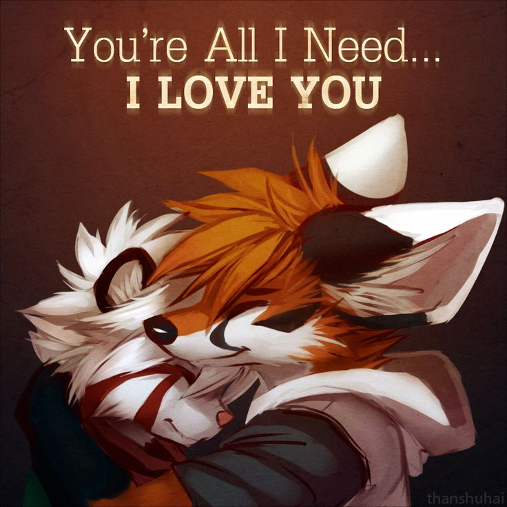 You're All I Need by thanshuhai.deviantart.com