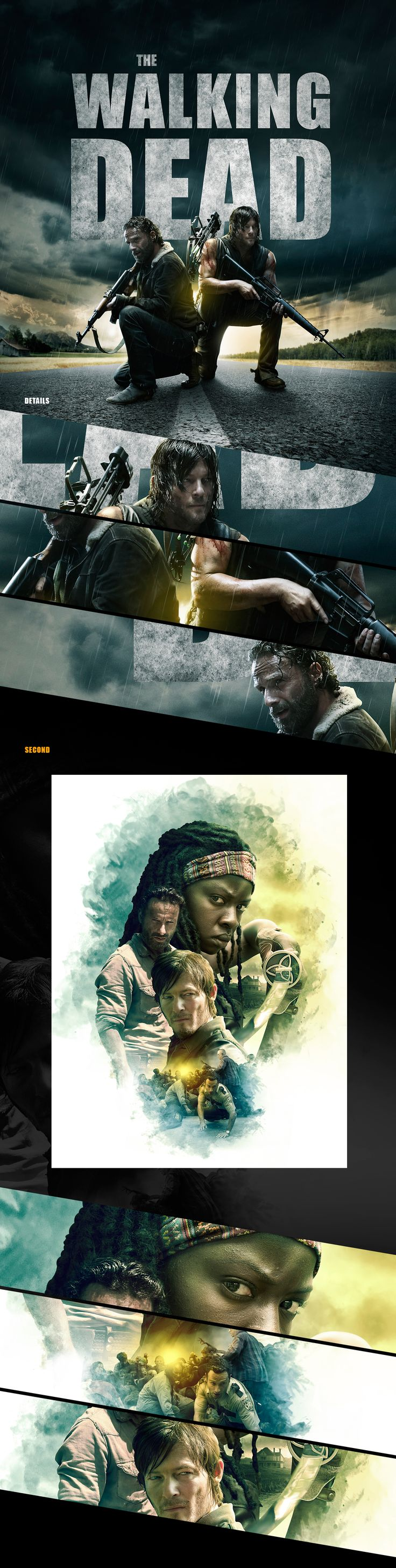 The Walkind Dead Posters on Behance
