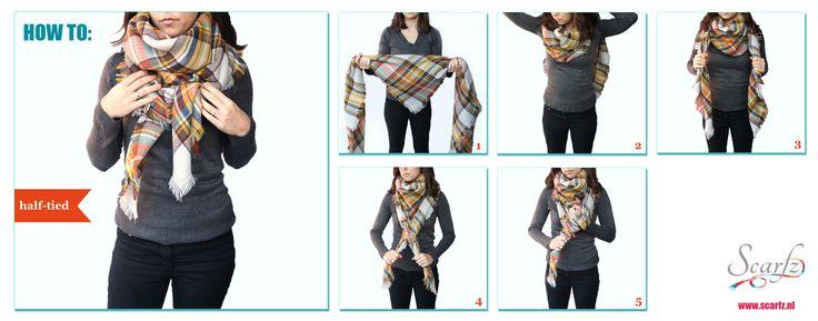 vierkante sjaal knopen | Hoe sjaal knopen? - Dames sjaals en heren shawls online…