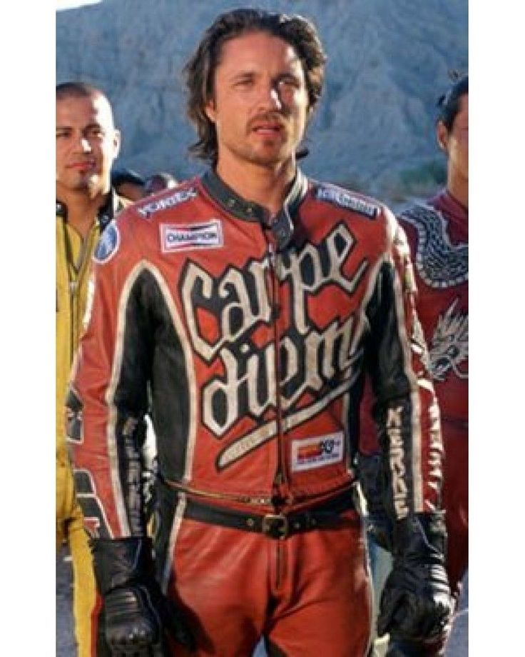 Carpe Diem Martin Henderson's Torque Movie Men Biker Leather Suit  #leathersuit   #movieleathersuit   #CarpeDiemMartinLeatherSuit   #bikerleathersuit   #menleathersuit  None