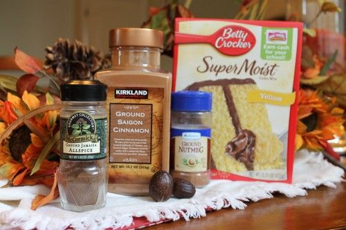 How To: Make a Spice Cake from a Yellow Cake Mix