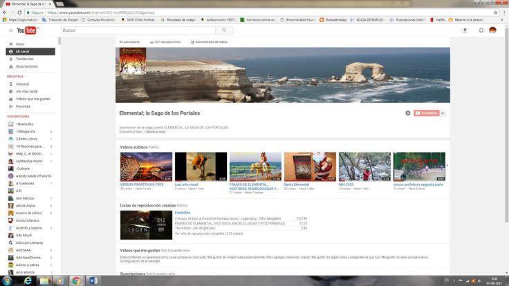 Mi canal Youtube