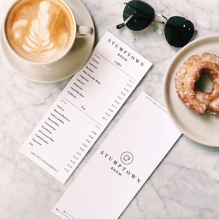 Stumptown Brew Coffee Shop Menu (@designedbyeden) on Instagram