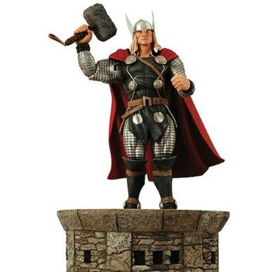 Amazon.com: Diamond Select Toys Marvel Select: Thor Action Figure: Toys & Games $21.45 w/SSS