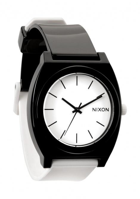 Nixon Men's Time Teller P Watch - Black/White £41.25