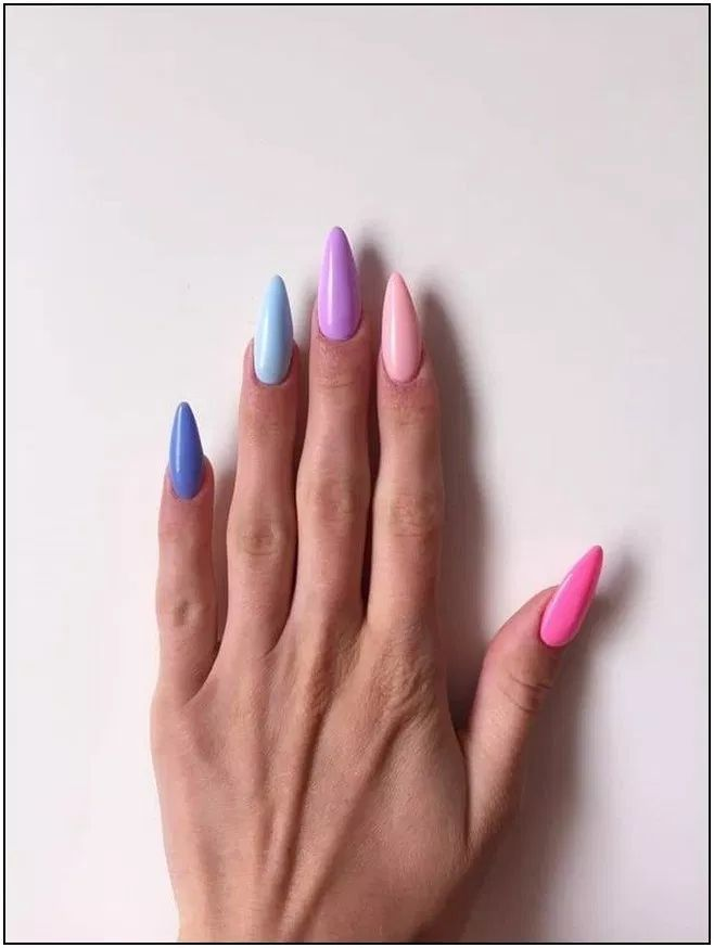 91+ Simple Summer Nails Colors Designs 2019 – Seite 39 | Homeinspiration … – Sommer Nagel