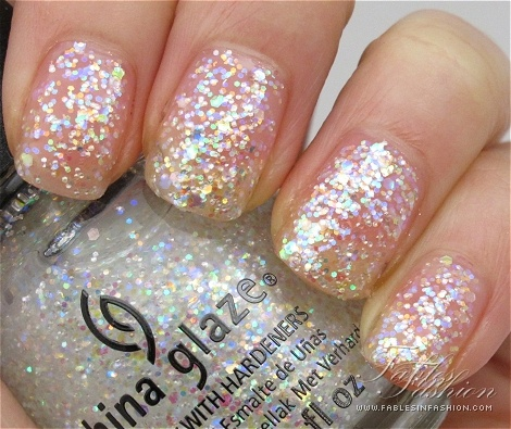 China Glaze- Snow Globe nail polish- from their Holiday 2011 collection