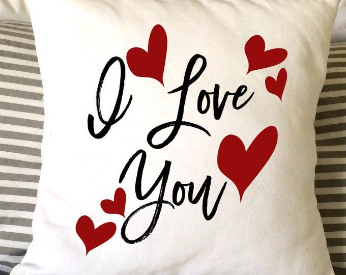 Rustic Decor Kiss Me Pillow Holiday Decor Monogrammed Pillow Gifts For Her Monogrammed Valentine/'s Gift Valentine/'s Day Gift