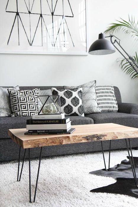 Mesa de madera natural - ECOdECO Mobiliario