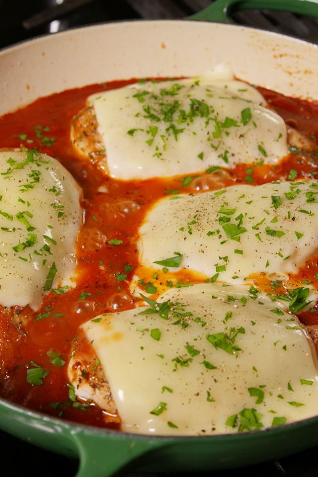 Mozzarella Chicken website has many quick and easy recipes to review