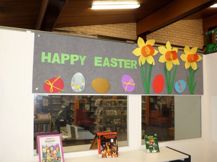 Easter 2014 - Granville Library.
