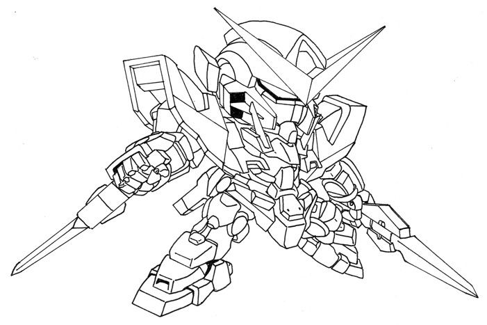 g gundam coloring pages - photo#35
