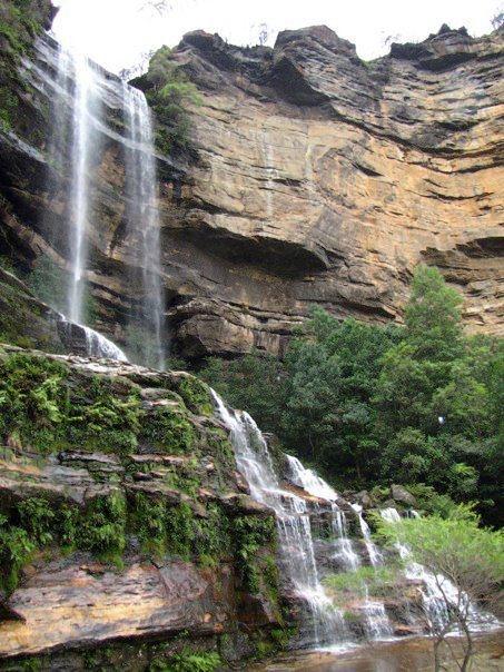 Waterfalls in the Blue Mountains - Australia