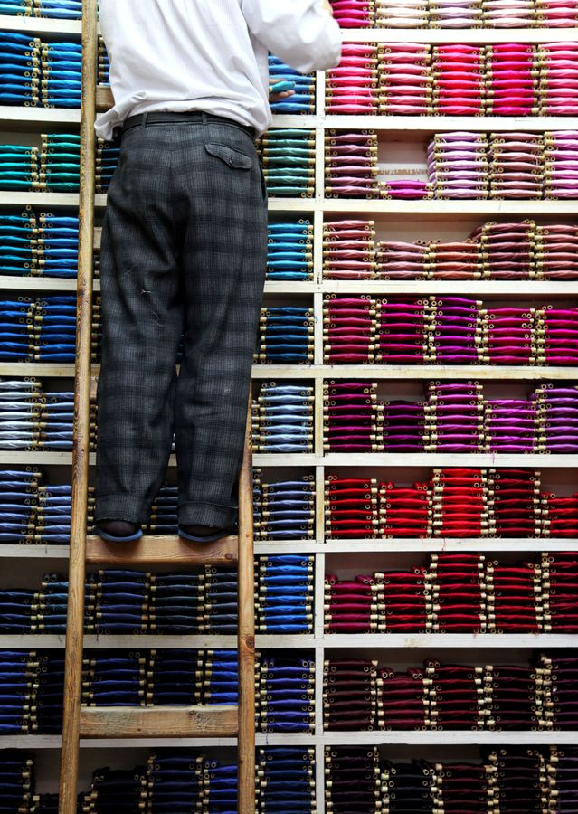 COLORFULL INVENTORY.  Morocco