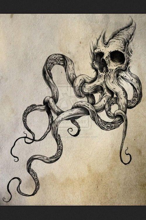 72 Best Octopus Tattoos und Zeichnungen mit Bildern