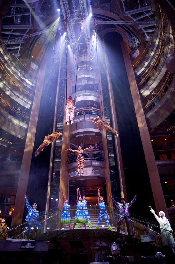 The Wow Show on the Royal Caribbean Grandeur of the Seas, sailing out of Baltimore.