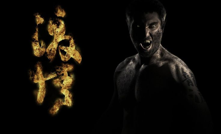 If you are taking selfies do it in style. The fiery text in Japanese says fury or wrath. You can me creating this fantasy photoshop manipulation in photoshop on my YouTube channel, <a >here</a>.