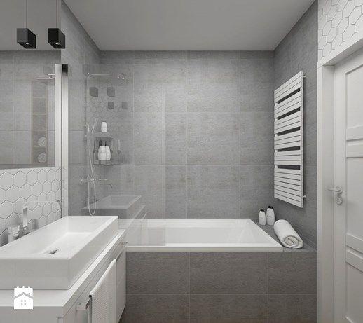 Aranżacje wnętrz - Łazienka: ŁAZIENKA - 5 m2 - Mała łazienka w bloku bez okna, styl minimalistyczny - BIG IDEA studio projektowe. Przeglądaj, dodawaj i zapisuj najlepsze zdjęcia, pomysły i inspiracje designerskie. W bazie mamy już prawie milion fotografii!