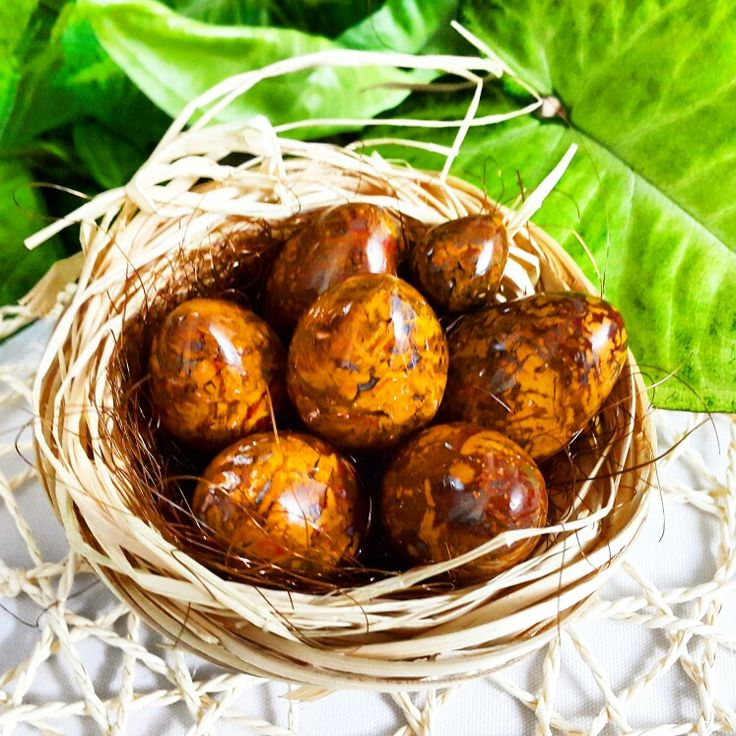 Turkish jasper egg handmade