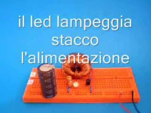 """Translation from Italian to English by Google translator. Test of the """"Self Running Micro TPU, with closed loop"""" published at: 2C_with_closed_loop The circuit of micro Toroidal Power Unit works well and does not contain critical realization .   #Change #closed #electricity #energy #fossil #Free #fuel #LED #loop #micro #power #Running #Self #TOROIDAL #TPU #unit #zero"""