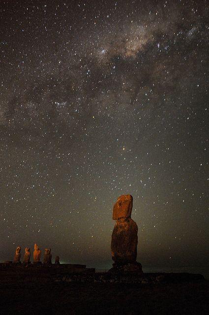Galaxy Tahai, Rapanui