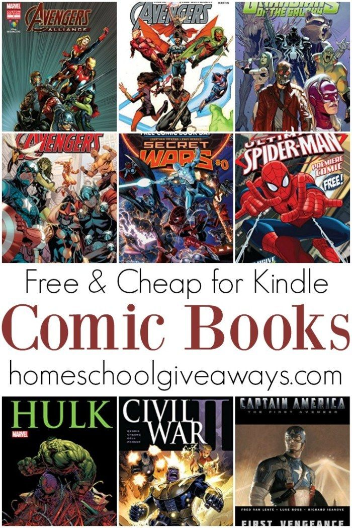 FREE and Cheap Comic Books for Kindle