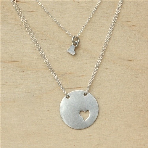 Adorbs mother daughter necklace