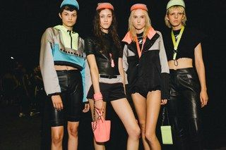 Inside the Alexander Wang spring show and party, where Madonna and daughter Lourdes Leon made a splashy appearance upstaging the Jenners.