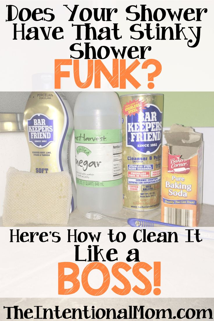 does your shower have that stinky shower funk hereu0027s how to clean it like a clean shower