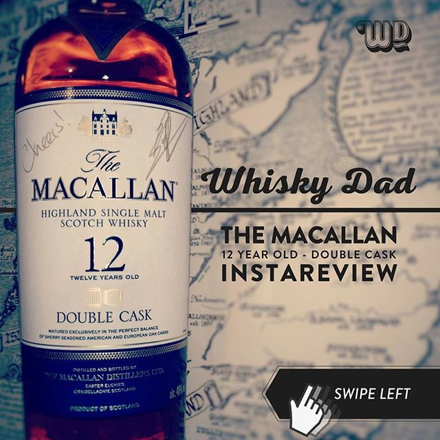 Matured in a combination of European & American Oak ex-Sherry casks, is The Macallan Double Cask a hit or a miss? #macallan #whisky #scotch #singlemalt #whiskyreview #speyside #doublecask #whiskytime #instareview #whiskyreview #impressions