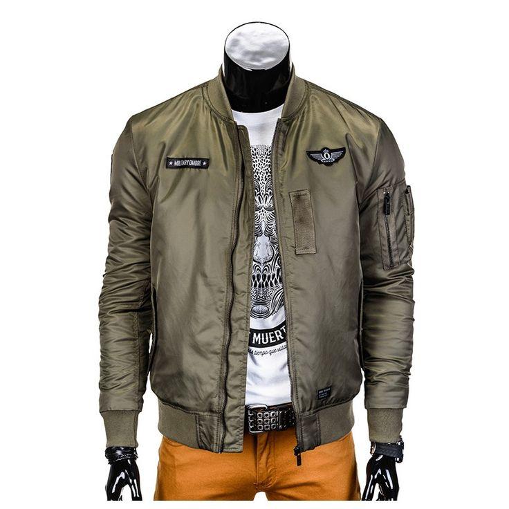 New jackets for men - pilot olive ️ www.italian-style.nl ️ - Vragen? bel 0527-240817 of mail naar info@italian-style.nl - Snelle levering  - Ruime collectie - Webshop keurmerk - Scherpe prijzen #fashion #herenmode #jassen #italian #style