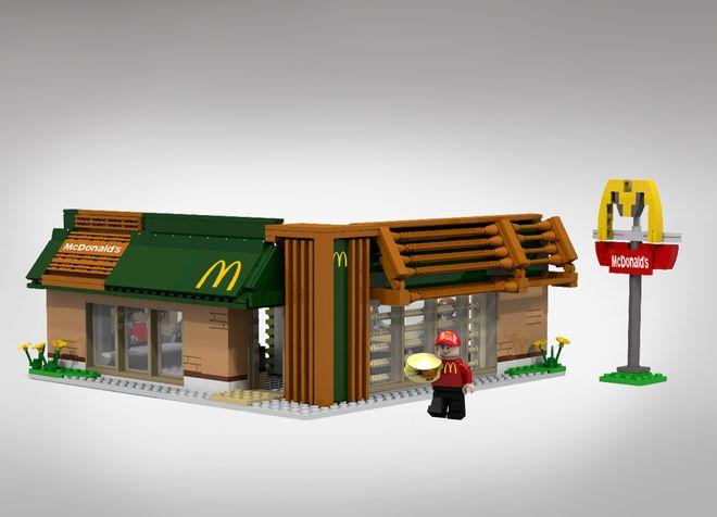 LEGO Ideas - McDonald's
