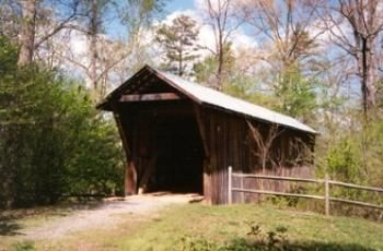 Bunker Hill Covered Bridge (Catawba county NC) Designed by the innovative Herman Haupt. The bridge is one of only two surviving original covered bridges in North Carolina.