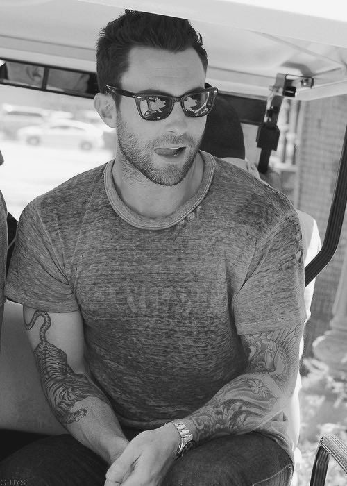 adam levine - i have now lost the ability to think clearly.