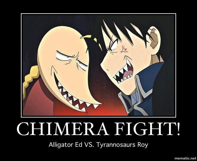 Fullmetal Alchemist Brotherhood (FMAB) Edward Elric & Roy Mustang