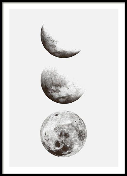 poster schwarz weiß | Skandinavisches design posters | Desenio