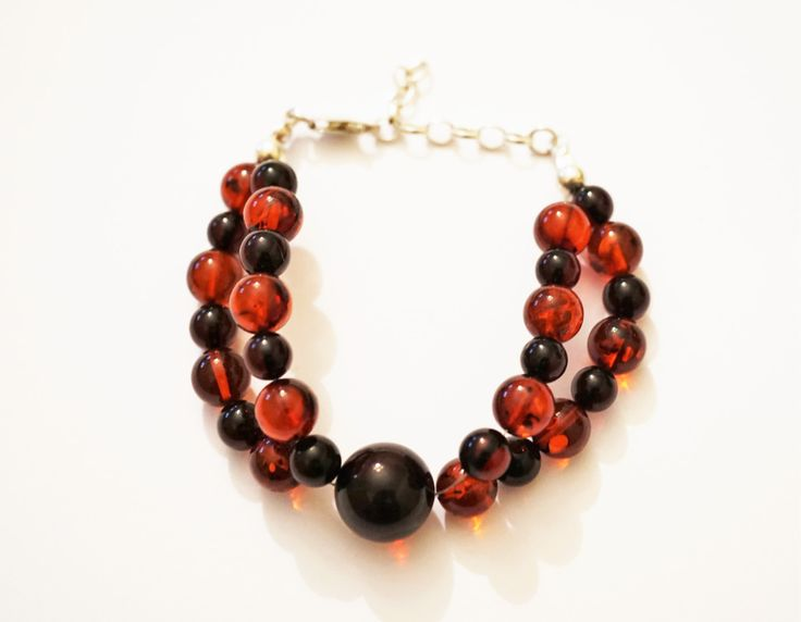 Handmade Baltic Amber bracelet, 11g by AmberLovers20 on Etsy