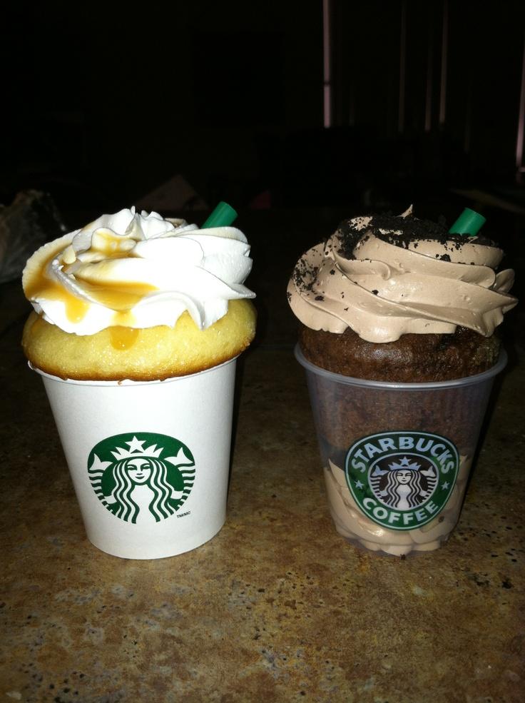 Starbucks cupcakes =)