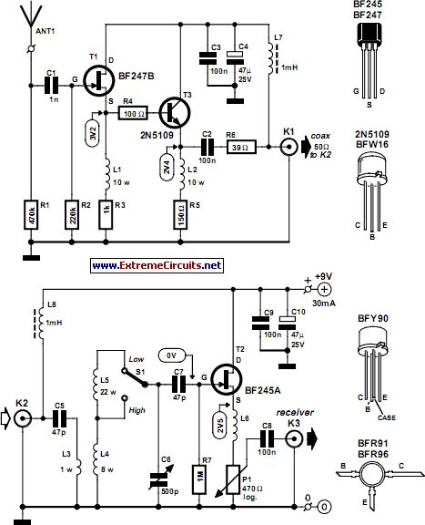 active antenna circuit project