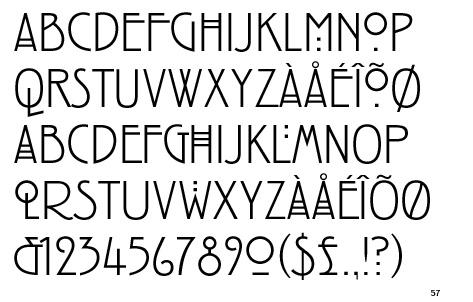 rennie macintosh font
