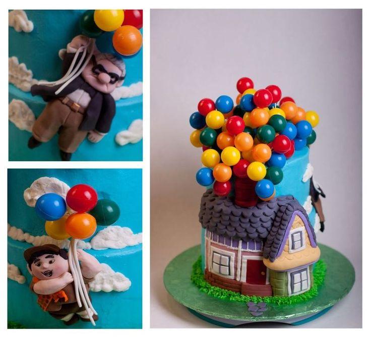 9 Best Up Cake Images On Pinterest Disney Cakes Fondant Cakes