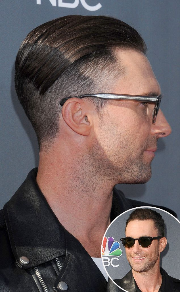 Adam Levine Debuts Crazy Platinum Blond 'Do—See the Pic! | E! Online