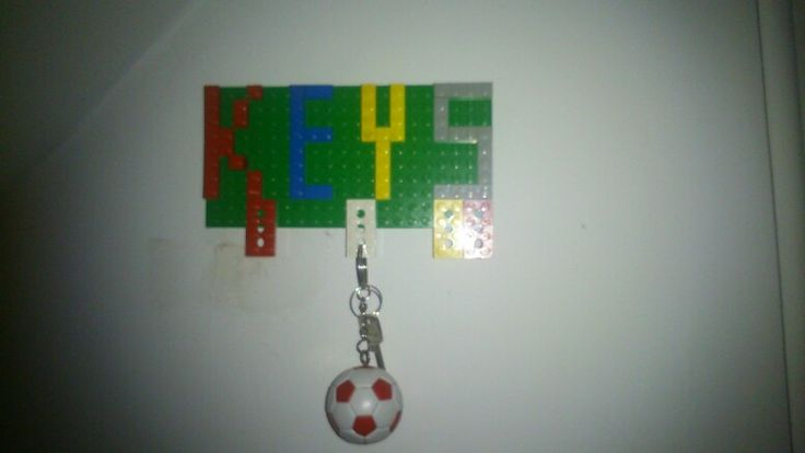 LEGO keys board