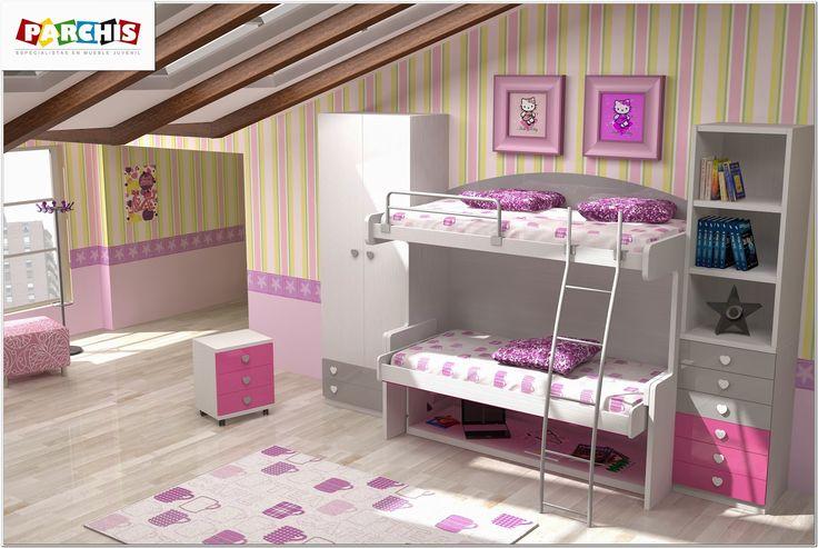 Dormitorios juveniles en madrid habitaciones infantiles for Habitaciones juveniles abatibles